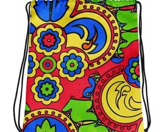 African Style No5, Drawstring bag