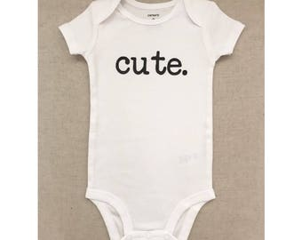 Cute baby outfit - cute bodysuit