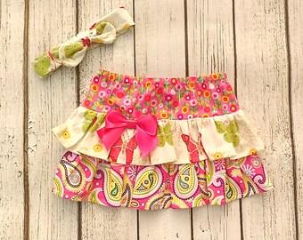 Toddler Girl Skirt, 2T, 50% off! Modest Little Girls Skirt, Toddler Butterfly Outfit, Girls Ruffle Skirt, Pink Skirt, Girls Butterfly Dress