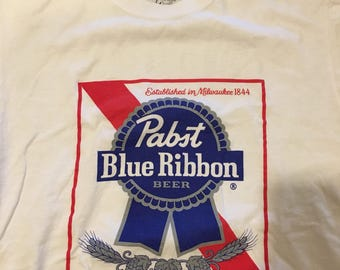 Pabst blue ribbon beer t shirt