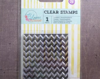Clear stamp Prima line Triangle back