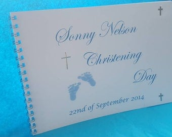 Guest Book - Christening/naming/baptism book