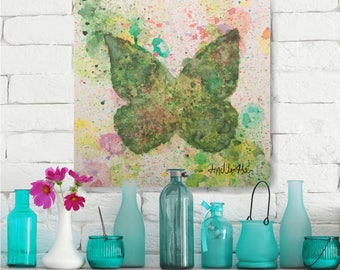 Painting, Wall Art, Butterfly, Original artwork, Interior Decoration, Decoration, Item #Wild Paradise