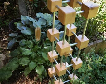 Solo Cubes Tower Garden Sculpture kit