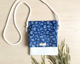 Blue purse/ bag for kids, toddler purse, little girl purse, little girl bag, kids purse, kid bag, girl bag, kid crossbody bag, coin purse