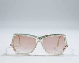 VINTAGE - Metal sunglasses