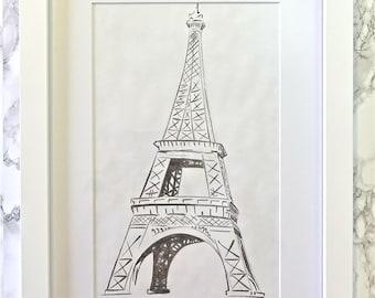 Hand Made Portrait - Paris, France
