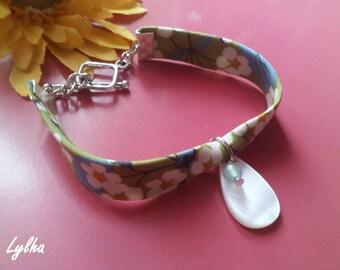 Liberty Pearl green bracelet