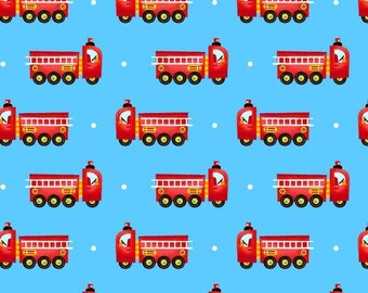 Sale Blue Mini Fire Trucks from the Be My Hero Collection by Henry Glass, Fireman, Firefighter, Firetruck