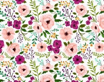 Baby Blanket Wildflower Blanket Peaches and Cream. Coral/Orange/Peach. Faux Fur Baby Blanket. Minky Baby Blanket. Floral Baby Blanket.