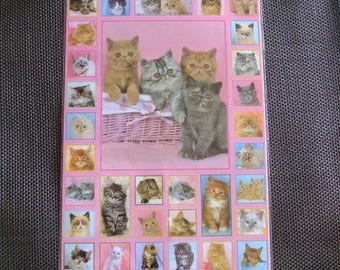 Lot 2 boards of cats and kittens stickers wall decal stickers