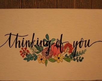 """Postcard // """"Thinking of You"""""""