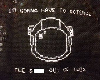 The Martian Cross Stitch
