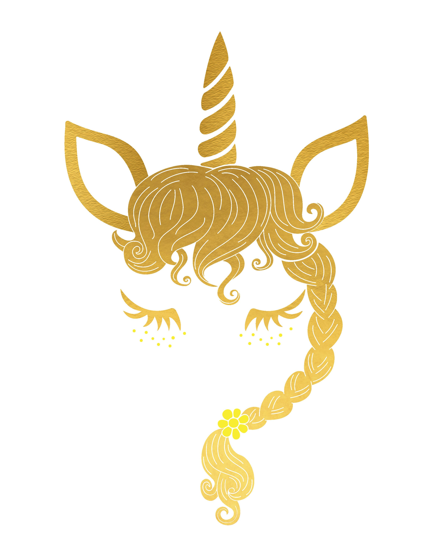 Unicorn Iron On Unicorn Head Svg Unicorn Fairy Svg