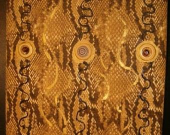 HERITAGE ALBUM Snake Skin Pattern