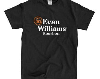 Evan Williams Bourbon - Black T-shirt