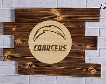 San Diego Chargers  Wood Sign San Diego Chargers  Wall art San Diego Chargers  Gift San Diego Chargers  Birthday San Diego Chargers  Party