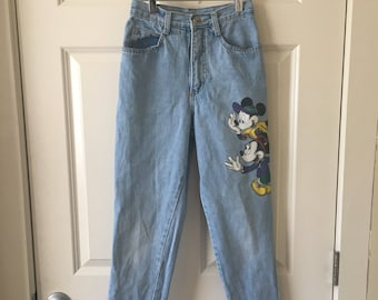 Mickey Mouse highwaist jeans