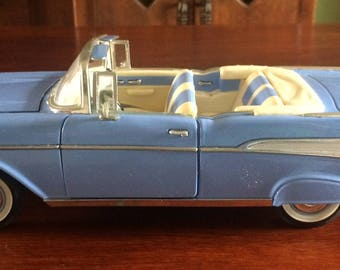Diecast Collectible 57 Chevrolet Belair convertible model car, Royal Signature, 1/16 scale.collectible cars, Home and Living,