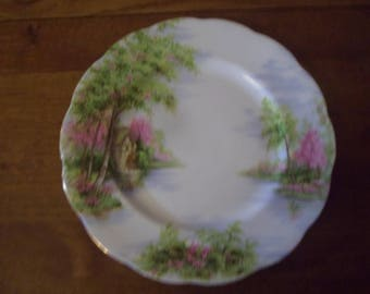 Royal Albert The Old Mill Lunch Plate