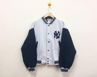 Rare!!! NY Varsity New York Baseball Vintage Made USA