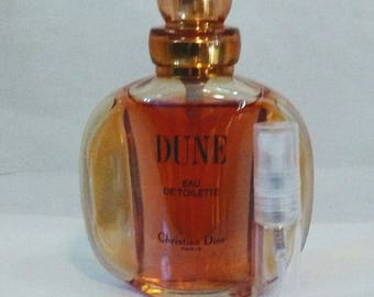 Vintage Christian Dior Dune - 3ml Sample -Stocking Stuffer