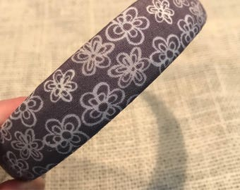 Adorable fabric covered hard headband!