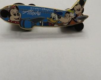 Disney Alaska Airlines Employees Spiri Arways Pin