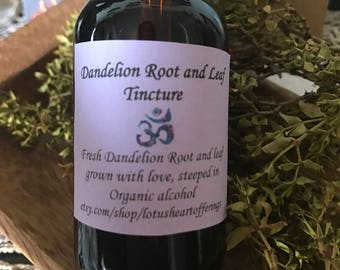 Dandelion Root and Leaf Tincture