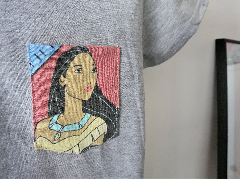 Pocahontas Pocket Tee