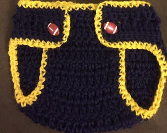 Crocheted Diaper Cover