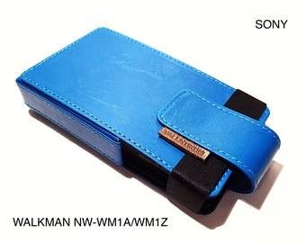 Sony Walkman NW-WM1A/WM1Z Leather case