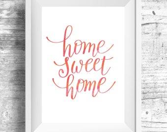 Printable Wall Art, House Blessing, Home Sweet Home, Art Prints, Wall Art, Wall Decor, Printable Art, Posters, Rustic Home Decor, Printable