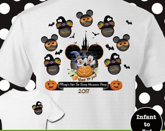 Disney Halloween Family Shirts, Disney Halloween Shirt, Boo To You Shirts, Mickey Halloween Family Shirts, Minnie Witch Shirts