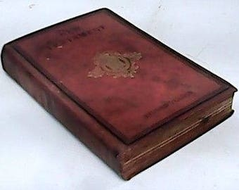 Bible - The New Testament - Commemorative of the Diamond Jubilee of Queen Victoria - 1881