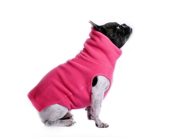 15.  WILD ORCHID Polartec 200 dog sweater