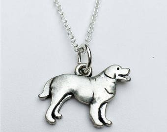 Great Pyrenees Charm Necklace
