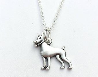 Miniature Pinscher Charm Necklace