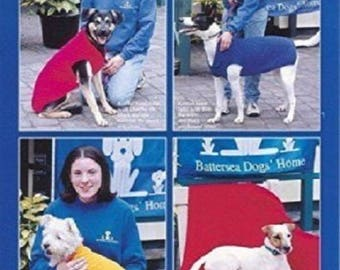 Dog Blankets and Coats Knitting Pattern 5792 from Sirdar, dog accessories, dog knitting pattern