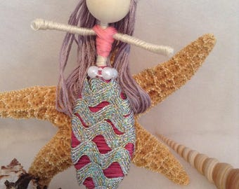 Bendable mermaid doll