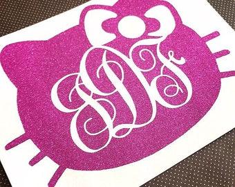 Custom Vinyl Stencil Decal Custom Vinyl DIY Stencil Vinyl - Hello kitty custom vinyl stickers