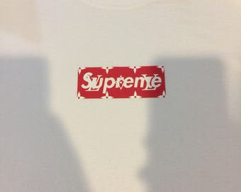 Supreme X Louis Vuitton Box Logo