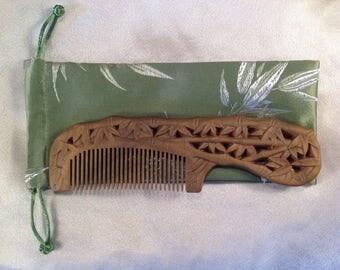 A0016- Wooden Comb