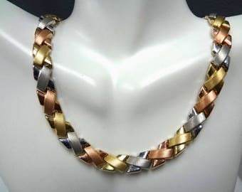 Tri Color Gold Etsy