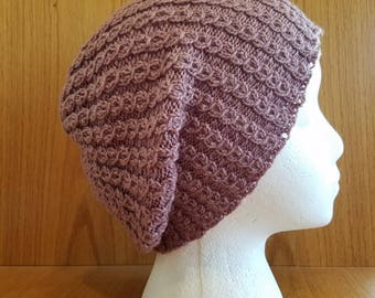 Shaylah Mock Cable Slouchy Hat