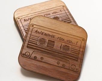 Awesome Mixtape Vol. 1 Coasters