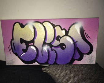 table name graffiti canvas