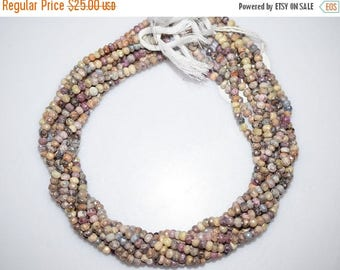 50% OFF Silverite Sapphire AB Coated Faceted Rondelle Beads , Silverite Sapphire Roundel , 4.50 mm - MC541
