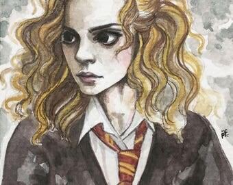 Annoyed Hermoine Granger
