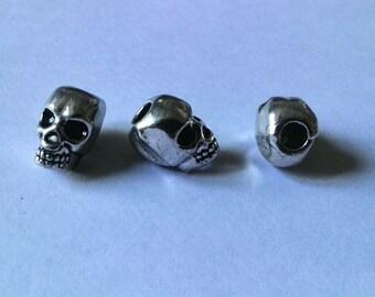 Bead of dread, dread bead, hair accessories, Pearl for dreadlocks, skull